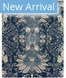 Feizy Luxury VID-2046 Navy - Blue Area Rug