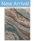 Jaipur Living Genesis Ges37 Conley Teal - Light Gray Area Rug