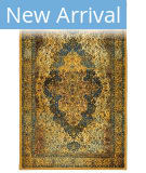 Karastan Antiquity Bandar Blue Area Rug