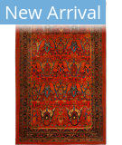 Karastan Antiquity Susa Red Area Rug