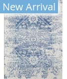 Kas Evolution 5106 Ivory - Blue Verona Area Rug
