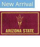 Luxury Sports Rugs Team Arizona State University Maroon Area Rug