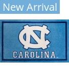 Luxury Sports Rugs Team University Of North Carolina Blue Area Rug