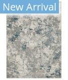 Oriental Weavers Evolution 0984D Grey - Blue Area Rug