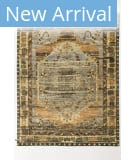 Solo Rugs Grit and Ground Antalya Brown Area Rug