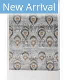 Solo Rugs Grit and Ground Chandelier Blue Area Rug