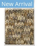 Solo Rugs Grit and Ground Cleo Ii Cream Area Rug
