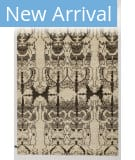 Solo Rugs Grit and Ground Gansevoort Cream Area Rug