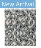 Solo Rugs Grit and Ground Harman Blue Area Rug