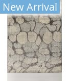 Solo Rugs Grit and Ground Seuss Clouds Gray Area Rug
