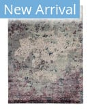 Solo Rugs Grit and Ground Willow Gray Area Rug