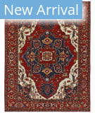 Persian Carpet Classic Revival Heriz AP-15 Red Area Rug