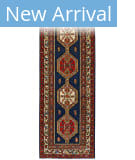 Persian Carpet Classic Revival Bidjar AP-1A Navy Area Rug