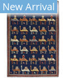 Persian Carpet Classic Revival Verneh AP-31 Navy Area Rug