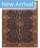 Persian Carpet Classic Revival Joshegan AP-34A Navy Area Rug