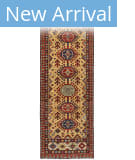 Persian Carpet Classic Revival Kazak AP-68 Gold Area Rug