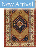 Persian Carpet Classic Revival Sarab AP-73 Camel Area Rug