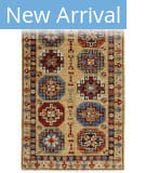 Persian Carpet Classic Revival Konya AP-8 Gold Area Rug