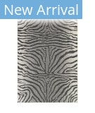 Trans-Ocean Carmel Zebra 8431/97 Grey Area Rug