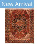 Tufenkian Heriz Semi-Antique 4 Area Rug