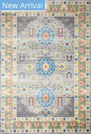 Bashian Charleston C186-Ro75a Grey Area Rug