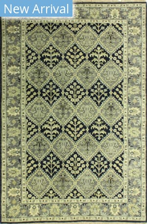 Bashian Heirloom H110-Hr111 Navy Area Rug