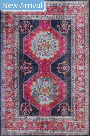 Bashian Heritage H114-Z051a Dark Blue Area Rug