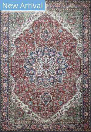 Bashian Impressions I166-Nr115 Red Area Rug