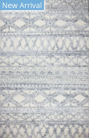 Bashian Marrakesh M133-Bn23 Ivory - Blue Area Rug