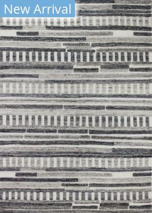 Bashian Montego M146-Hl101 Ivory - Charcoal Area Rug