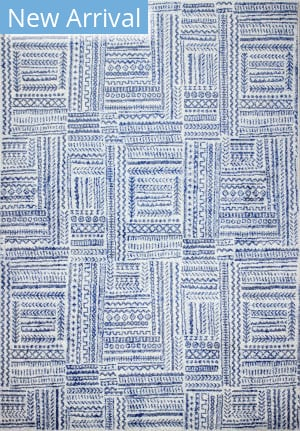 Bashian Mayfair M147-Mr603 Ivory - Blue Area Rug