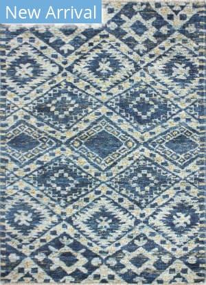 Bashian Noho N113-Ach104 Grey - Blue Area Rug