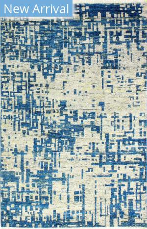 Bashian Noho N113-Ach105 Silver - Blue Area Rug