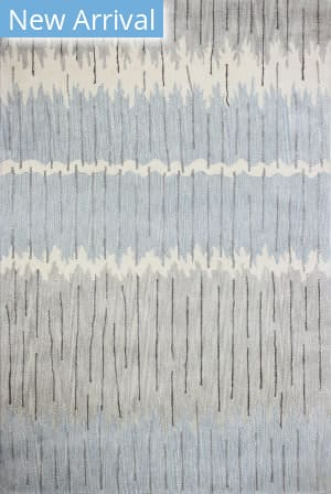 Bashian Greenwich R129-Hg369 Grey - Blue Area Rug