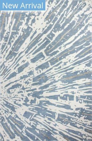 Bashian Greenwich R129-Hg362 Ivory - Blue Area Rug