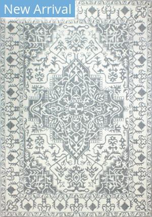 Bashian Valencia R131-Bnal89 Ivory - Grey Area Rug