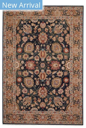 Capel Kindred-Peshawar 3452 Navy Area Rug