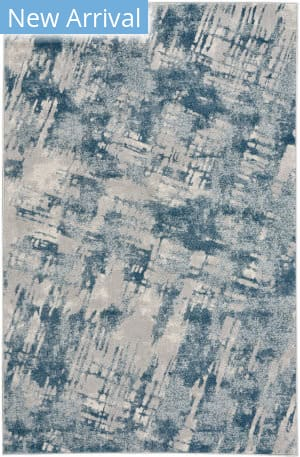 Capel Kevin O'brien Sketch 3710 Blue Area Rug