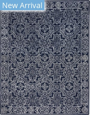 Capel Colrain 9157 Dark Blue Area Rug