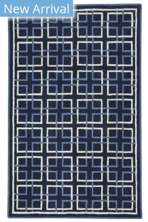 Capel Anthony Baratta Framework 9181 Dark Blue Area Rug