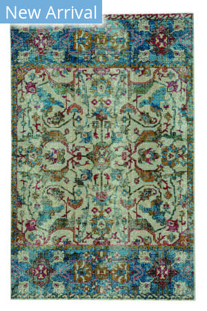 Capel Benz-Manisa 3824 Medium Blue Area Rug