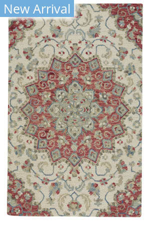 Capel Shakta-Palani 2555 Light Sand Floral Area Rug