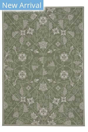 Capel Williamsburg Elsinore-Garden Maze 4699 Thyme Area Rug