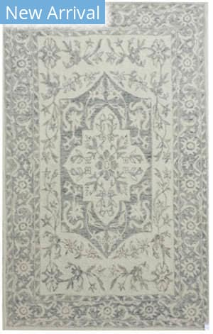 Company C Colorfields Vintage Medallion 10751 Driftwood Area Rug