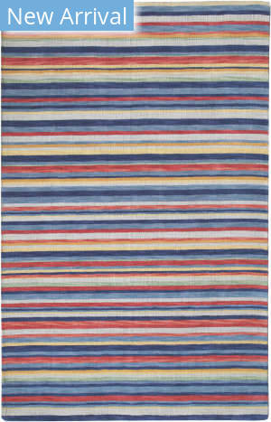 Company C Colorfields Americana Stripe 10830 Multi Area Rug