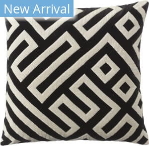Company C Maze Pillow 10832 Black