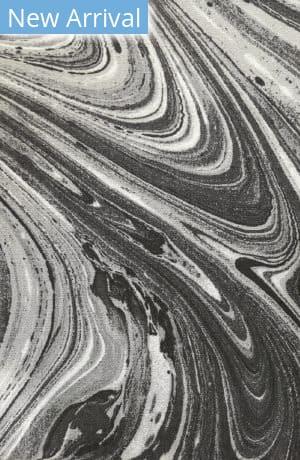 Company C Colorfields Marble 10895 Onyx Area Rug