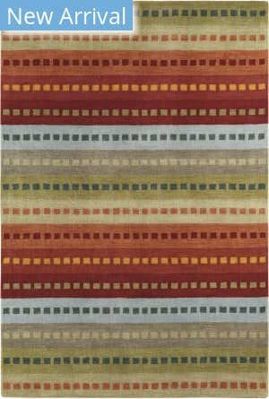 Company C Colorfields Tibetan Stripe 19315 Multi Area Rug