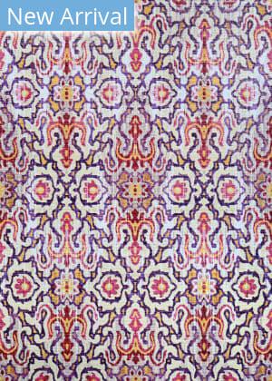 Couristan Xanadu Puebla Violeta Area Rug