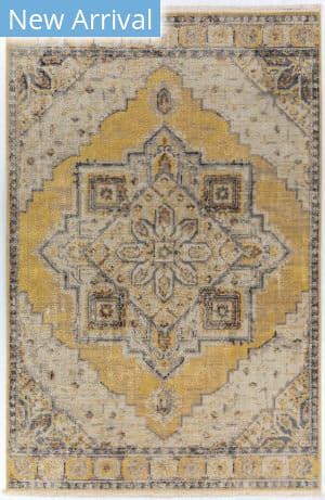 Dalyn Baku Bu1 Lemon Area Rug